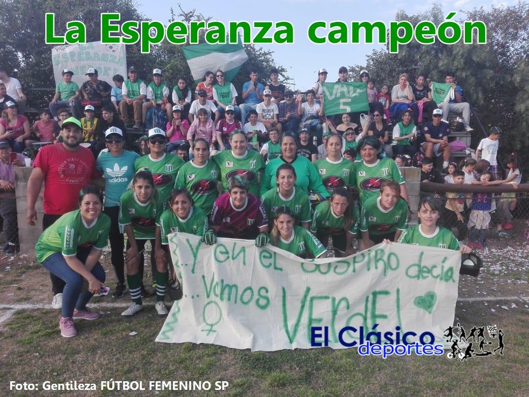 Fútbol femenino: La Esperanza campeón del Torneo Ludmila Manicler