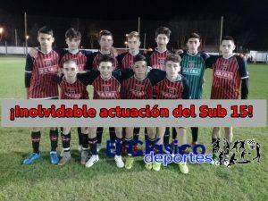 Sub 15: En el partido de ida, San Pedro goleó en Rojas