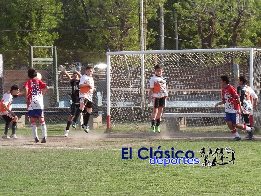 Fútbol infantil: Se jugó la octava fecha