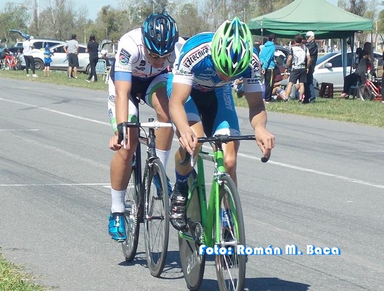 Ciclismo en Colón: Triunfo de Basualdo