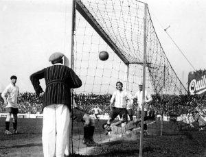 A 95 años del primer gol olímpico