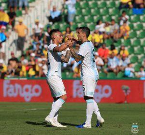 La Selección goleó a Ecuador