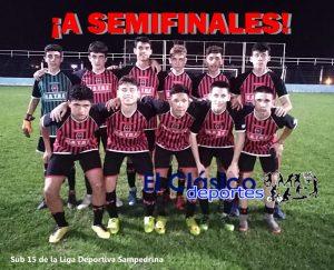 El Sub 15 de San Pedro se metió en semifinales del Nacional Juvenil. El Sub 13 eliminado en Rojas
