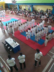 La Asociación Sampedrina de karate realizó certamen promocional interno en Independencia