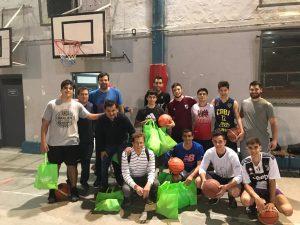 Visita y entrega de materiales deportivos a clubes de nuestra ciudad