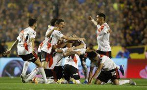 Copa Libertadores: Ganó Boca, pero festejó River el pase a la final