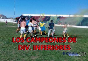 Infanto juveniles: Paraná campeón en quinta y tercera, Independencia repitió en cuarta