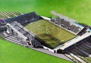 Se aproxima la fecha de inauguración del Estadio Único de San Nicolás