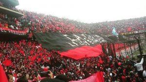 Viví la final de la Copa Sudamericana junto a los hinchas de Colón en San Pedro