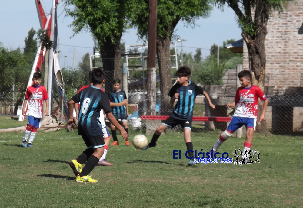 Ya están los partidos de cuartos de final de la Liga Infantil