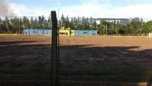 Independencia FC trabaja en su campo de deportes