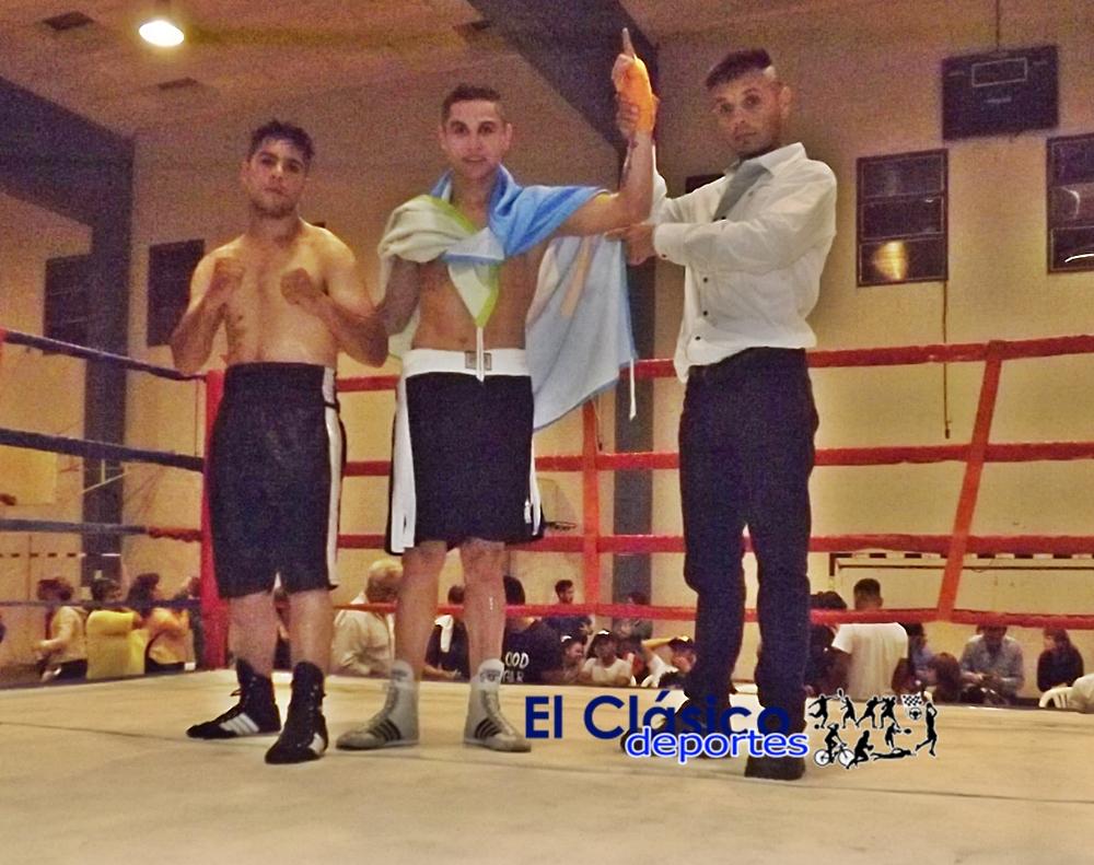 Boxeo: Nuevo triunfo de Ubiedo. También ganaron Gutiérrez y Calveras