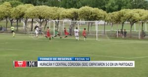 Con gol de Sebastián Ramírez, Huracán igualó en el inicio de la fecha de las reservas de Superliga