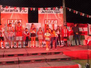 Paraná FC llevó a cabo la 24º edición del premio «Albirrojo»