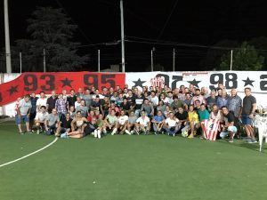Paraná FC realizó un nuevo encuentro de ex y actuales jugadores