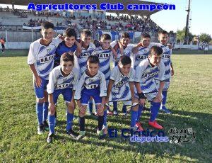Lee más sobre el artículo Agricultores se coronó campeón del infanto juvenil