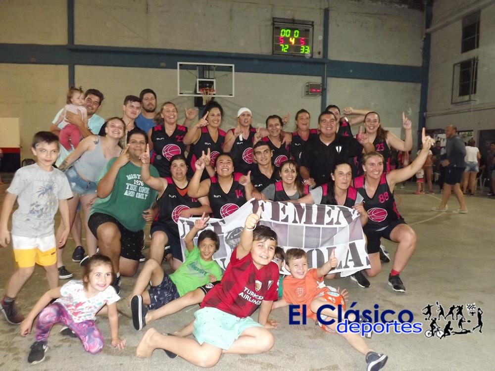 Básquet: San Martín de San Nicolás campeón del femenino