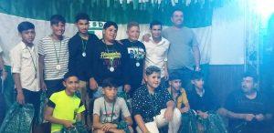 Independiente de Río Tala cerró el año con una reunión gastronómica y entrega de presentes