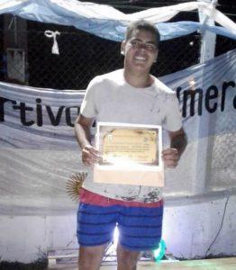 Jeremías García elegido con el «Palmeras de oro»