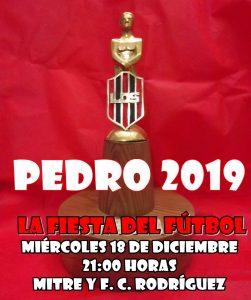 El próximo 18 la Liga entrega los premios «Pedro». El listado de reconocimiento