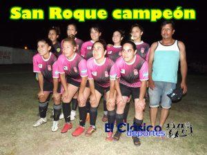 San Roque le ganó a Dep. La Roca en la definición en los penales y es campeón del Clausura