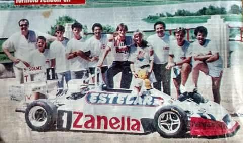 La consagración de Sergio Solmi en la Formula Renault