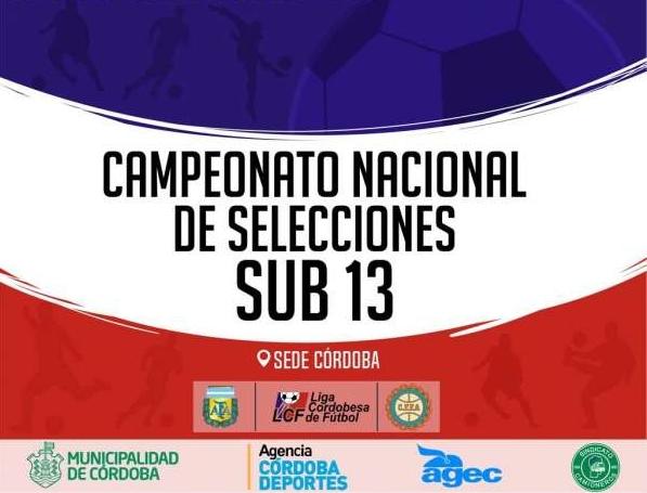 Río Tercero fue el campeón en el Nacional Sub 13