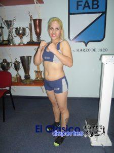 La sampedrina Brenda Pérez se presenta Córdoba