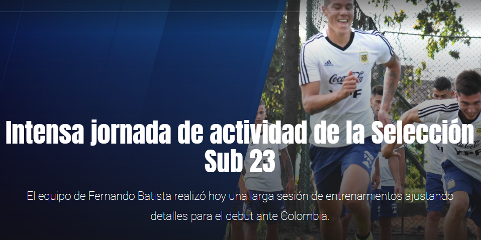Sub 23: El equipo busca el ideal para enfrentar a Colombia