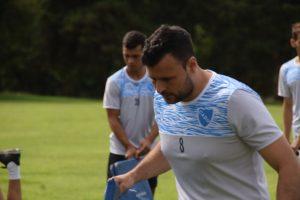 Fernando Gómez ya entrena con CADU de Zárate
