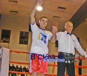 Laureano Sciuto Ubiedo pelea hoy en Malvinas Argentinas