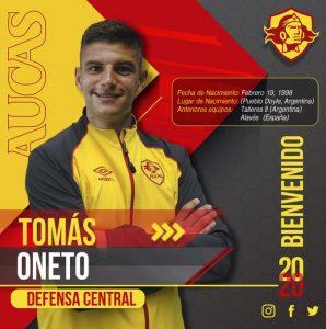 Tomás Oneto, sus inicios y su llegada a Aucas (Ecuador)