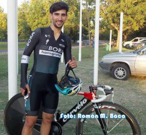 Ciclismo en San Pedro: Mariano no fue nada «Manzo»