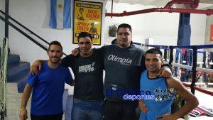 Espíndola guantea con Matías Vidondo en Rosario