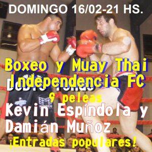 Lee más sobre el artículo Boxeo en San Pedro: Interesante gala el domingo en Independencia FC
