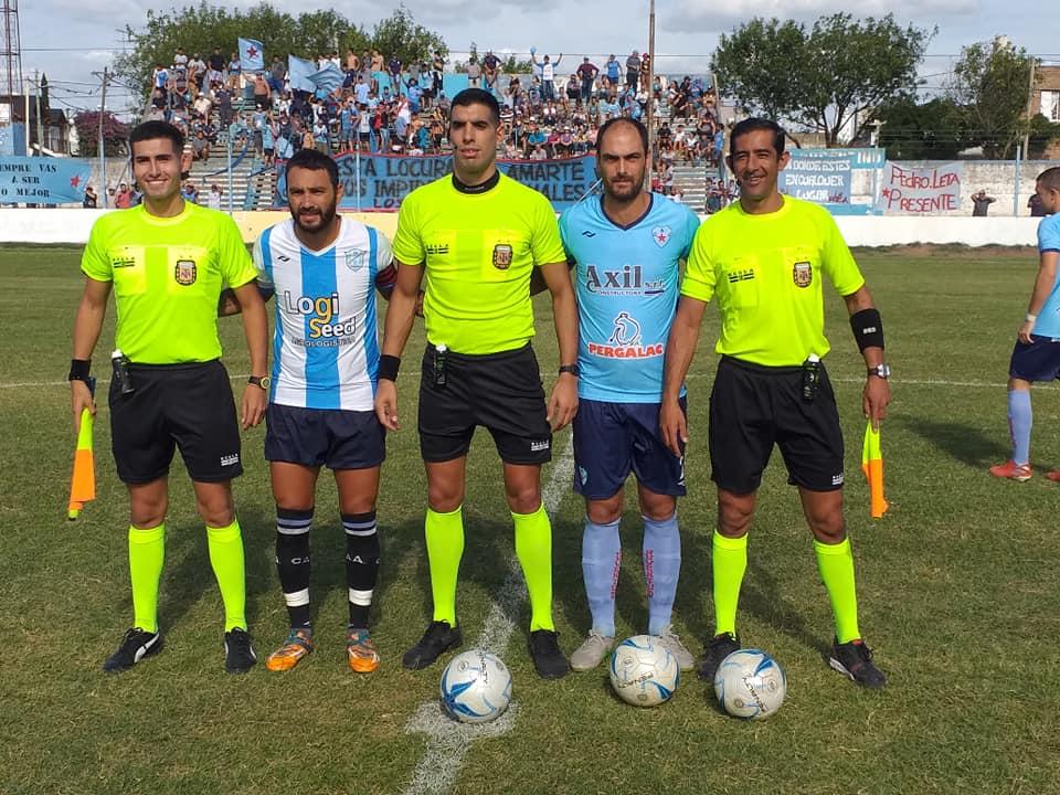 Terna de árbitros de San Pedro dirigirá Ciudad de Bolívar-Liniers (BB)