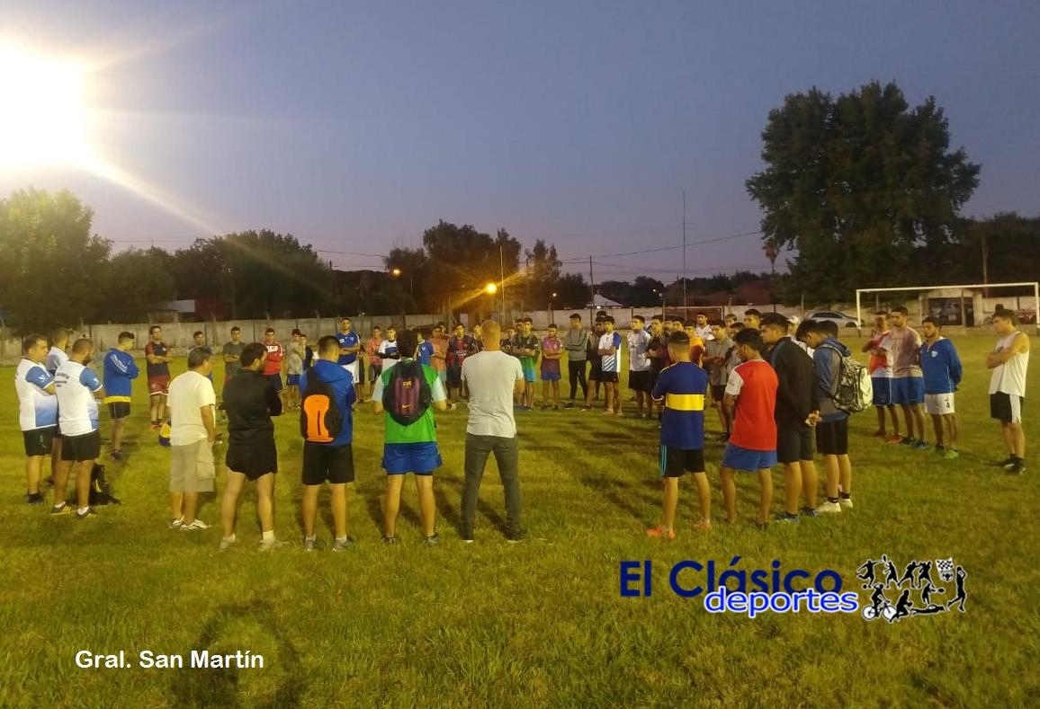 Fútbol local: Gral. San Martín puso primera..