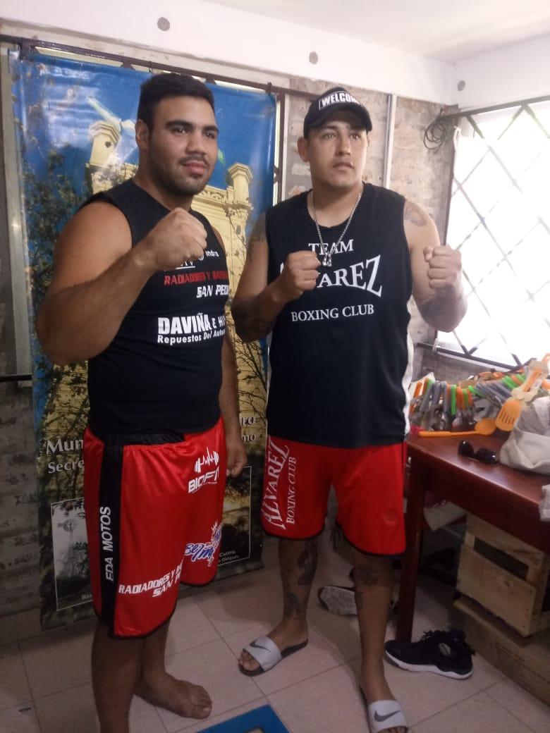 Boxeo y Muay Thai: Los fondistas pasaron por la balanza