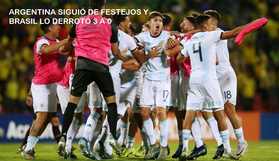 Preolímpico Sub 23: La selección cerró con derrota su notable campaña