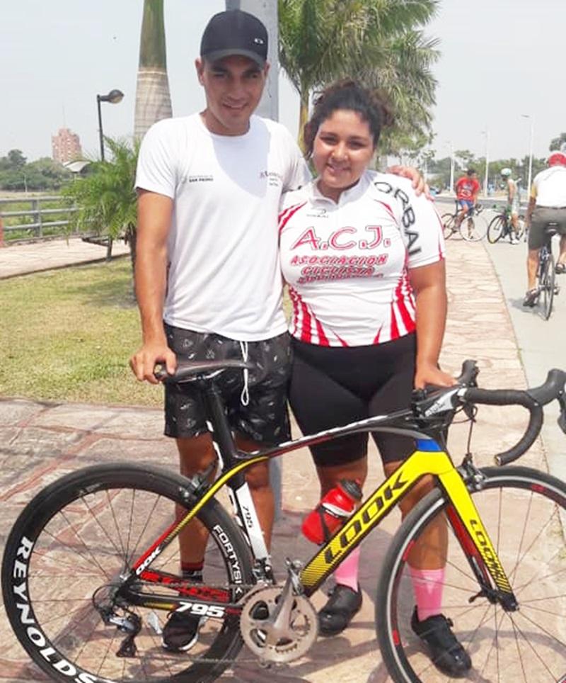 Ciclismo: En Formosa compiten Brenda Paz y Juan José Paz