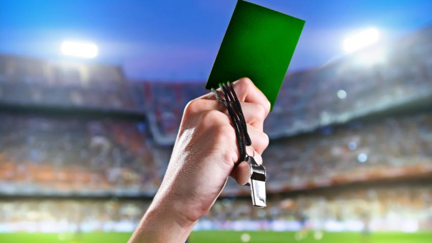 AFA implementará la tarjeta verde en el fútbol juvenil
