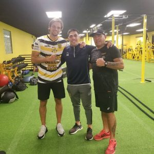 Lee más sobre el artículo Boxeo mundial: Braian Castaño junto al sampedrino Matías Erbin en Los Angeles