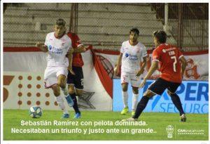 Notable actuación de Sebastián Ramírez en el triunfo de Huracán ante Independiente