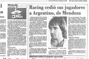 Impensado hoy en día: Hace 34 años Racing alquilaba su equipo para jugar el Regional