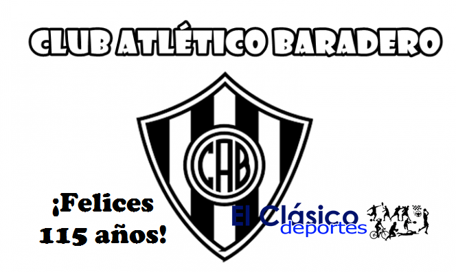 Atlético Baradero festeja el 115º Aniversario