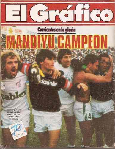 Mandiyú quedó en la historia del fútbol del interior