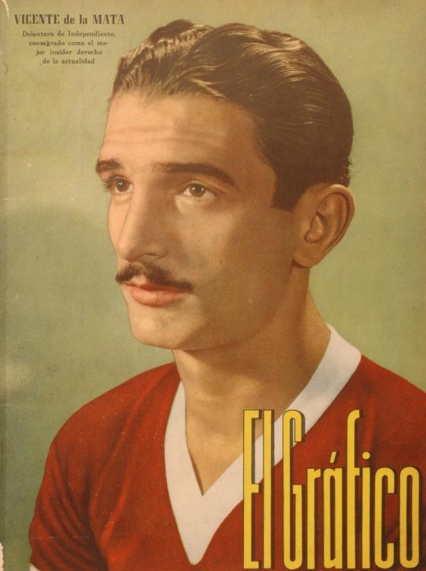 Fútbol nacional: Vicente De La Mata en el recuerdo