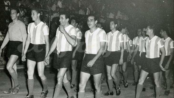 Sudamericano del '57: Carasucias y atrevidos, albicelestes de corazón