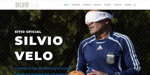 Podes conocer la página web de Silvio Velo