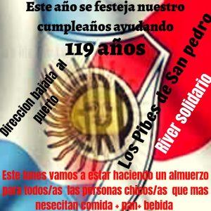 Todo el país se une con River Plate solidario
